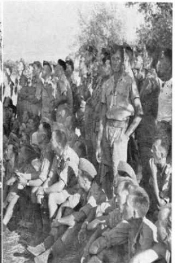 C.I.B. Sp. Gp. ballgame - Militello - August 1943