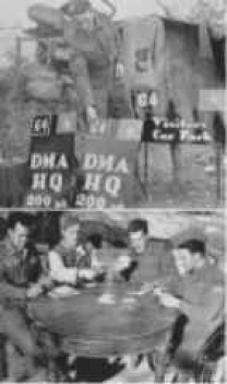 Top: D.M.A. Ortona March 1944 / Bottom: Off Duty